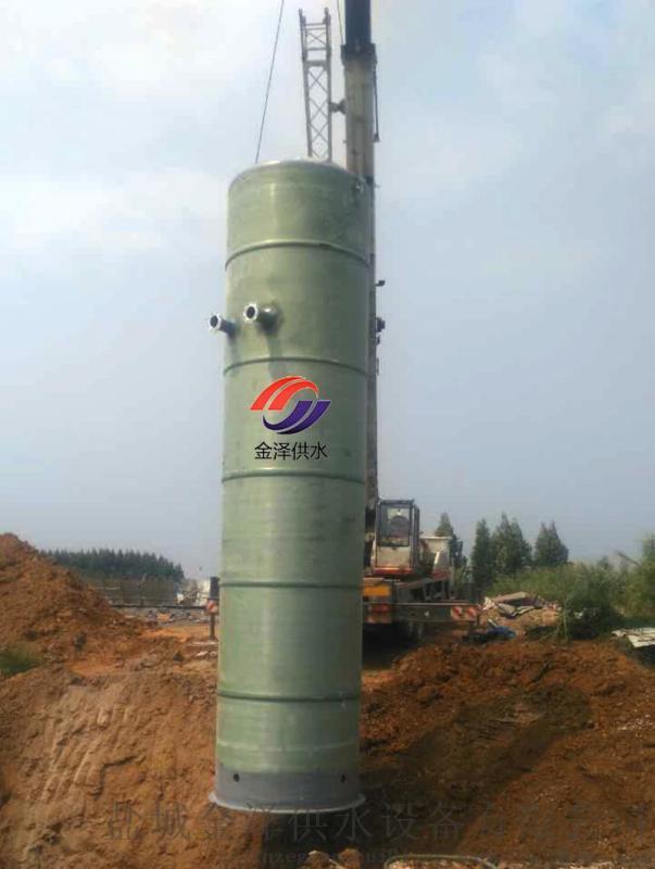 一體化污水提升泵站粉碎格柵系統