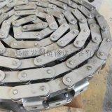傳動用雙節距滾子鏈耐高溫耐腐蝕定製工業傳動輸送不鏽鋼鏈條包郵