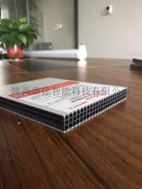 建筑塑料模板厂家直销圆孔/方孔塑料中空板