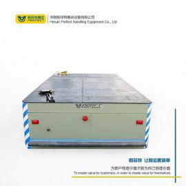 浙江蓄电池供电搬运车10T模具物料平板车遥控无轨车