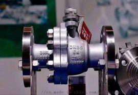 Q347F不锈钢固定日标球阀 德标三通平台法兰球阀