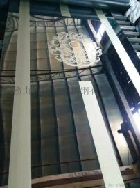 304彩色不锈钢蚀刻板现货 玫瑰金不锈钢腐蚀板厂家