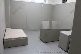 審訊室防撞軟包安裝前提及牆面規劃