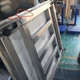SCS-1吨带传输接口地磅,1*1m尺寸电子磅秤