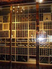 福建超镜面玫瑰金不锈钢酒柜定制加工厂家