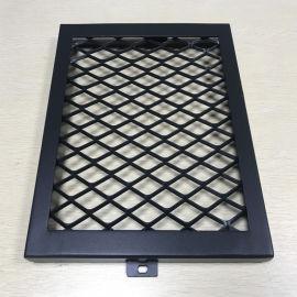 室内走廊通道吊顶拉伸网板生产商 定制勾搭式铝网板
