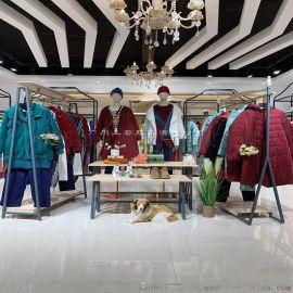 香格里拉品牌  真丝大码女装尾货专柜换季库存货源
