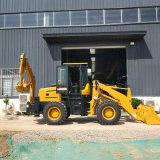 两头忙挖掘装载机 2吨前铲车后挖机