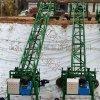 大型水渠修建設備攤鋪機 液壓自走渠道成型機