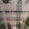 廣東別墅用屋檐裝飾雨鏈 純銅排水鏈可定製