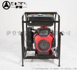 萨登应急泵便携式水泵市政排污汽油6寸水泵