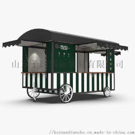 小吃车地摊移动餐饮车电动商用早点麻辣串餐饮创业