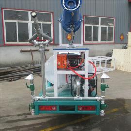 工程建设1.5方雾炮洒水车, 遥控降尘新能源洒水车