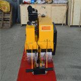 新款小型柴油振动压路机视频手扶式大单轮农用压实机