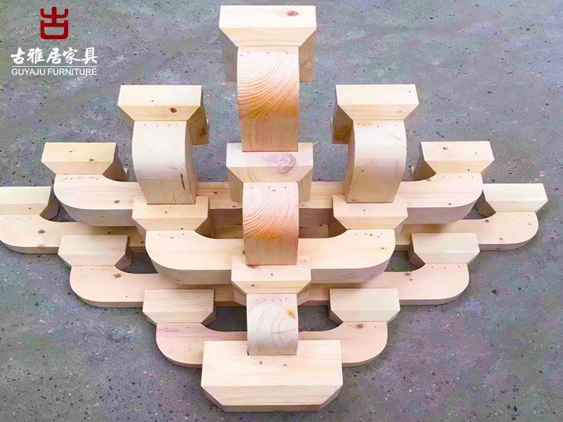 四川撐弓斗拱廠,實木斗拱定製加工