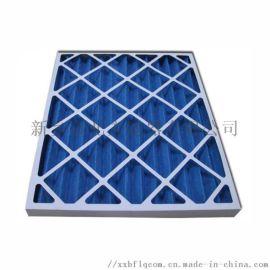 纸板框初效空气过滤器阻力小重量轻可拆卸