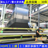 四川雙糙面1.5HDPE防滲膜供應商
