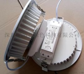 高品质LED筒灯8寸40W嵌入式LED筒灯
