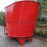 立式固定式TMR飼料攪拌機 牛場養殖青貯攪拌機廠家