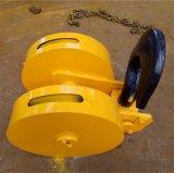 50T半封闭双钩吊钩组 型号齐全吊钩组铸钢滑轮