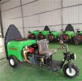 乘坐柴油塔式果園風送打藥機,全自動高射程打藥機