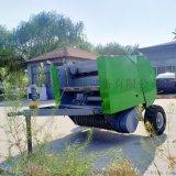 自拾式小麥撿拾打捆機廠家,圓包玉米秸稈打捆機