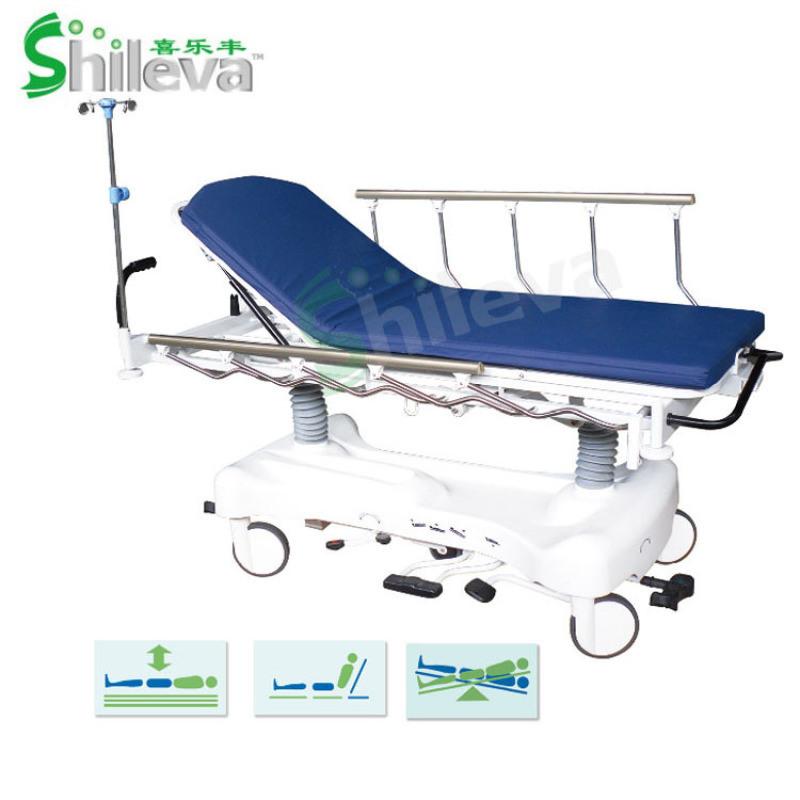 医用液压升降平车,医用转运车,胃镜检查床