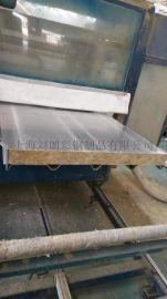 铝岩棉夹芯板 隔音彩钢板 冲孔铝吸音板