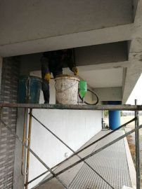 日照市工业园区工业池墙体裂缝高压灌浆堵漏