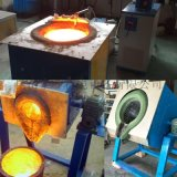 50kg废铜水熔化炉,倾倒式中频熔铜炉