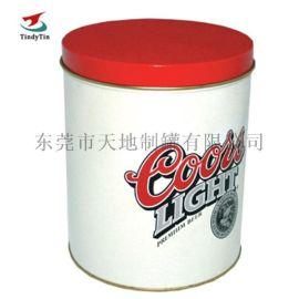 中号圆形铁罐 马口铁饼干罐定制 供应饼干糖果盒