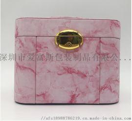 批发定制时尚潮人创意爆款首饰盒公主欧式韩国收纳盒大容量首饰盒