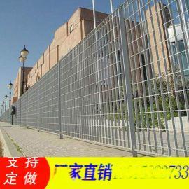 钢格板护栏网/热镀锌钢格板围栏/不锈钢格栅板围栏网