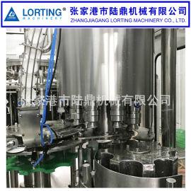 啤 冲洗灌装封口一体机 玻璃瓶等压灌装生产