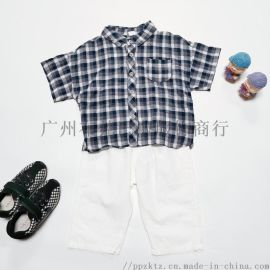 2020夏季甲虫屋韩版 童装货源 童套装专柜品牌