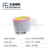 【艾森物联】H3芯片PET白标物品资产跟踪标签