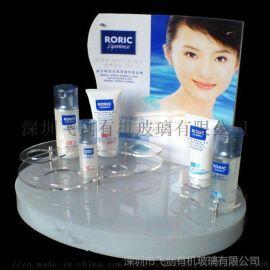 亚克力展示架化妆品展示架有机玻璃展示架化妆收纳架