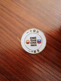 金属徽章定制企业合金胸针制作团队烤漆印刷胸章生产厂