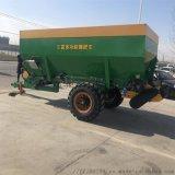 农用撒肥机 大田粪肥撒肥机 牵引式有机肥撒肥机