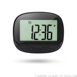 多功能顯示大螢幕卡路里計步器 電子時鐘計步器