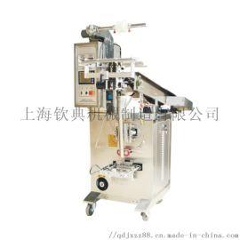 食品饺子薯片包装上海钦典自动链斗式包装机