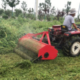 清理園林荒草還田機,打草粉碎一體還田機