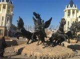 户外阿波罗铜雕