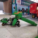 毫州多功能玉米秸稈青儲飼料打捆機,打捆包膜機