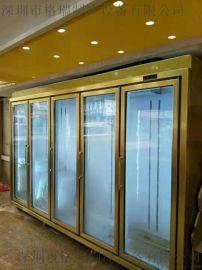 超市饮料展示柜 立式保鲜冷藏冰柜 超市便利店冰箱