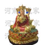 地藏王菩萨简历 传说地藏王菩萨 闵公道家神像