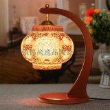 現代中式茶餐廳臥室燈具