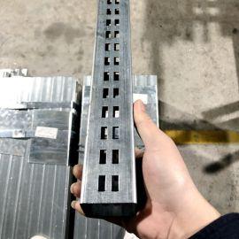 货架立柱冲孔管加工定制-佛山方管冲孔厂家-来料加工