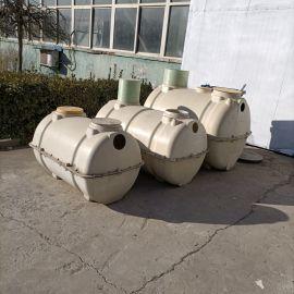 污水处理两格式储水罐销售玻璃钢净化池