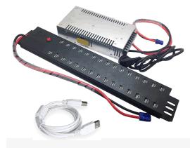 西普莱30口A-812 HUB集线器USB分线器手机Ipad平板电脑刷机充电柜